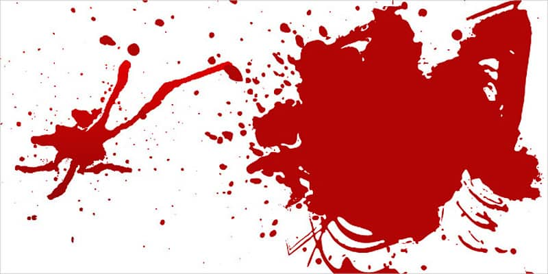 The Blood Spatter Collection