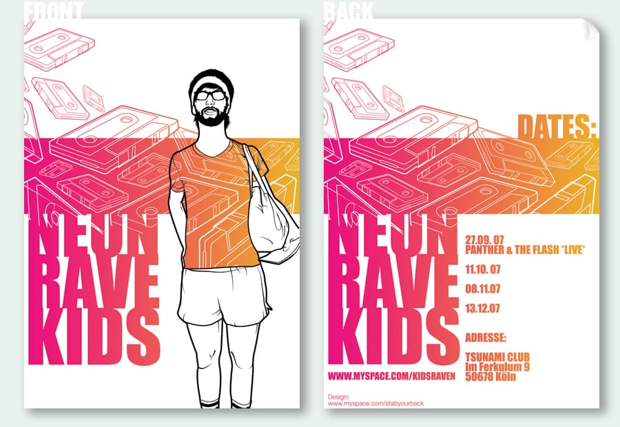 flyer illustration design inspiration design graphics 012 - 30+ FANTASTIC FLYER DESIGNS FOR CREATIVE INSPIRATION
