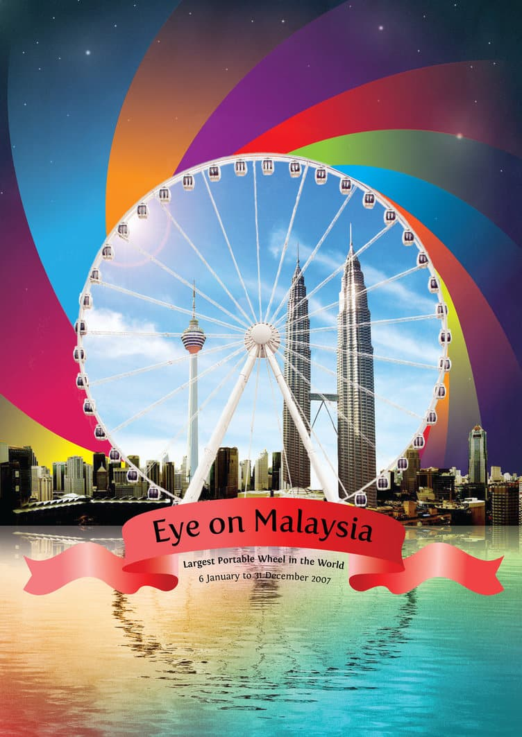 Eye On Malaysia Flyer Front