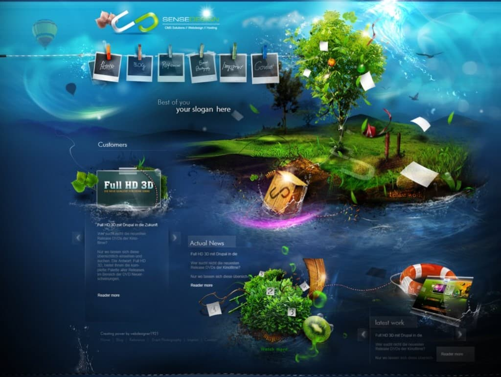 15 pastavilla web design