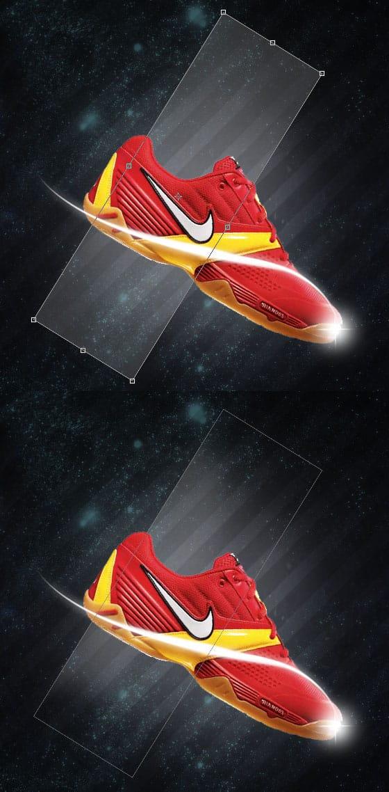 billigt för rabatt flera färger första titt Design a Nike Shoe Advert using Photoshop -DesignBump