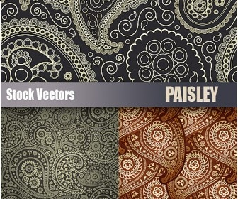 20+ Beautiful Paisley Patterns, Vectors & Brushes for Download ...