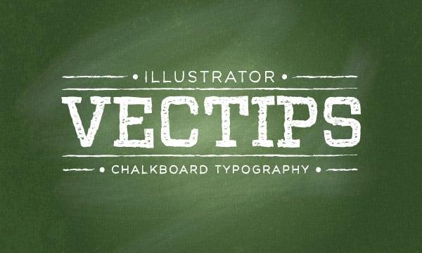 15+ Vintage & Retro Typography Illustrator Tutorials -DesignBump