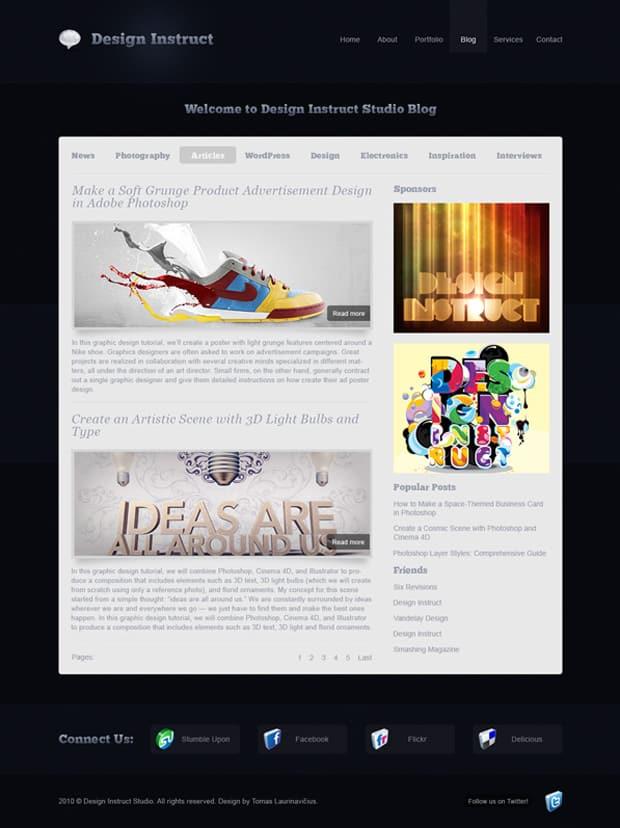 30 Excellent Blog Design Tutorials to Learn DesignBump