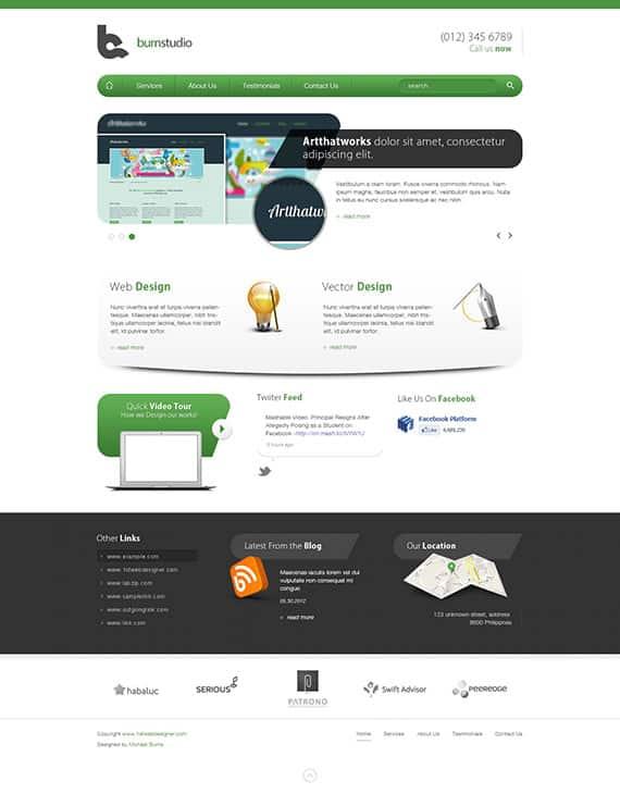 15 Latest Website Layout Photoshop Tutorials to Learn -DesignBump
