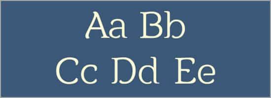 25+ Free Fonts Perfect for Logo Designs -DesignBump