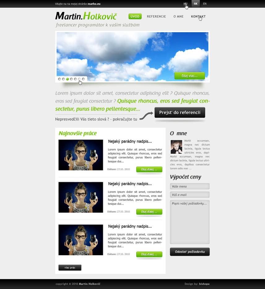 Portfolio Site Examples: 33+ Portfolio Website Designs For Inspiration -DesignBump