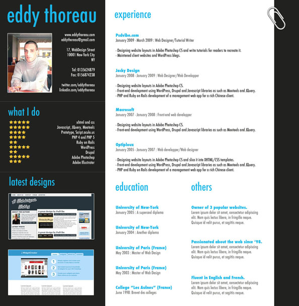 9 helpful resume design tutorials to learn
