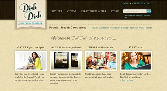 50+ Beautiful Vintage & Retro Web Designs for Inspiration -DesignBump
