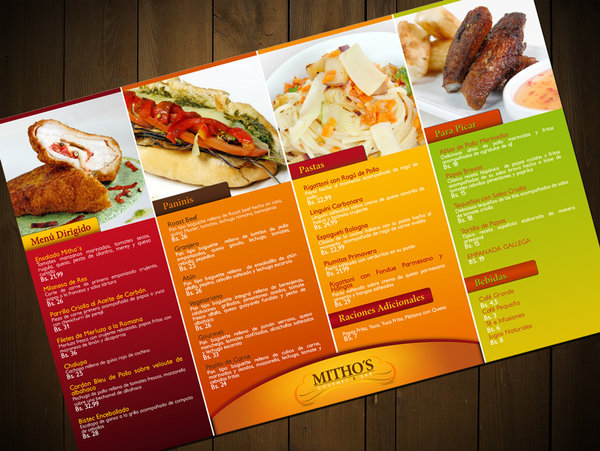 the roost menu - Menu Design Ideas