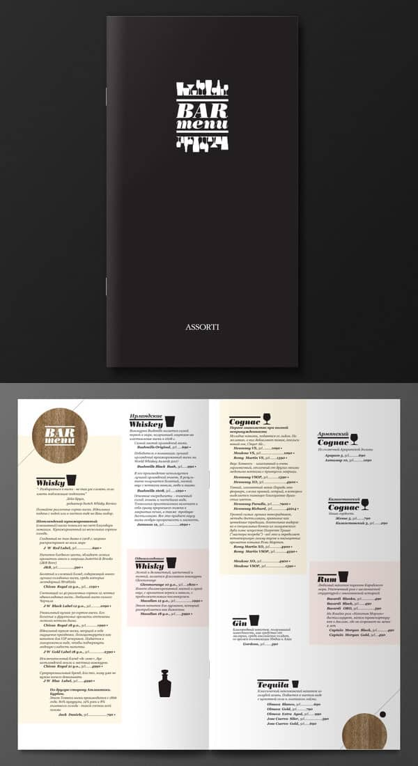 40 Restaurant Menu Designs For Inspiration Designbump