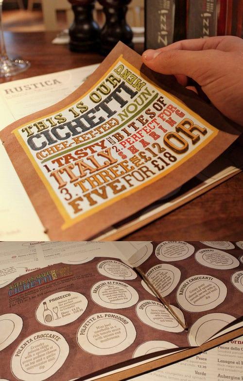Menu Design Ideas smart and creative menu card design ideas 17 Bicu Menus