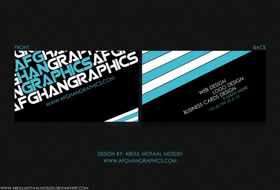 Business Cards Graphic Designers Image collections - Card Design And ...