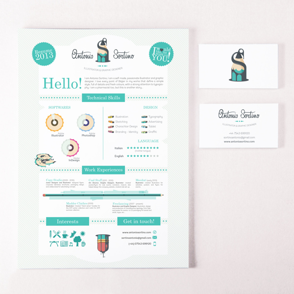 20 creative resume designs you ll designbump