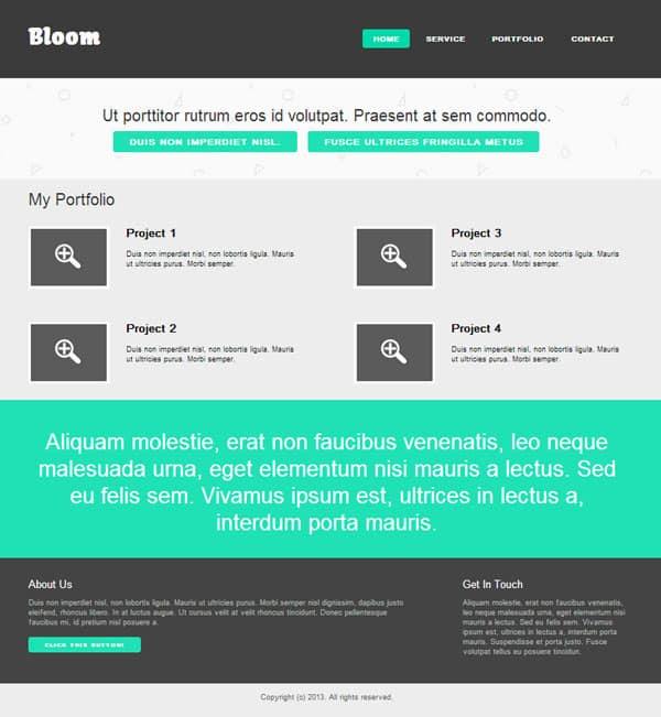 Create Website Template: 25 CSS3 Tutorials For Web Designers In 2013 -DesignBump