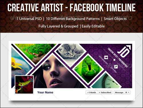 Psd Facebook Timeline Covers YouLl Love Designbump