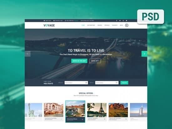 40+ High Quality PSD Website Templates -DesignBump