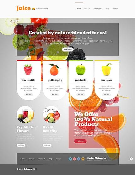 30 Food & Drink Responsive Joomla Templates -DesignBump