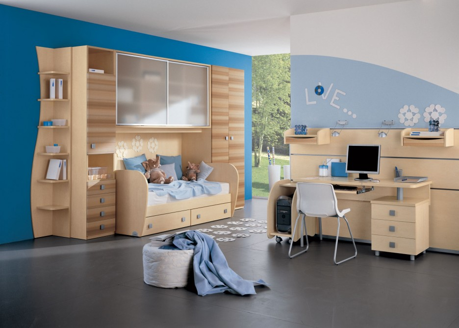 28 cool and fun bedroom interiors for kids - Bedroom Fun Ideas