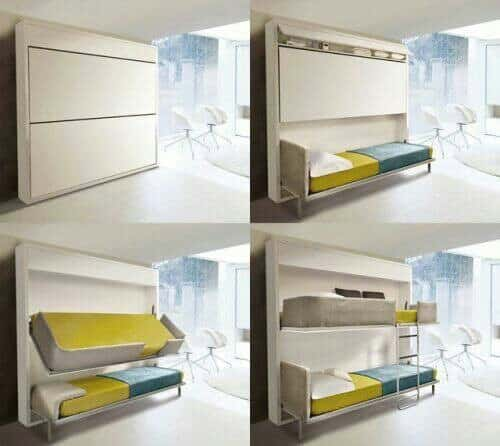 Marvelous 30 Clever Space Saving Design Ideas For Small Homes Designbump Largest Home Design Picture Inspirations Pitcheantrous