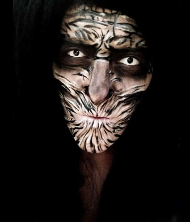 76 Of The Scariest Halloween Makeup Ideas -DesignBump