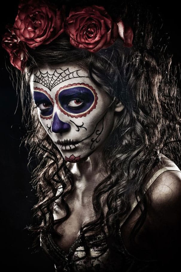 76 Of The Scariest Halloween Makeup Ideas DesignBump