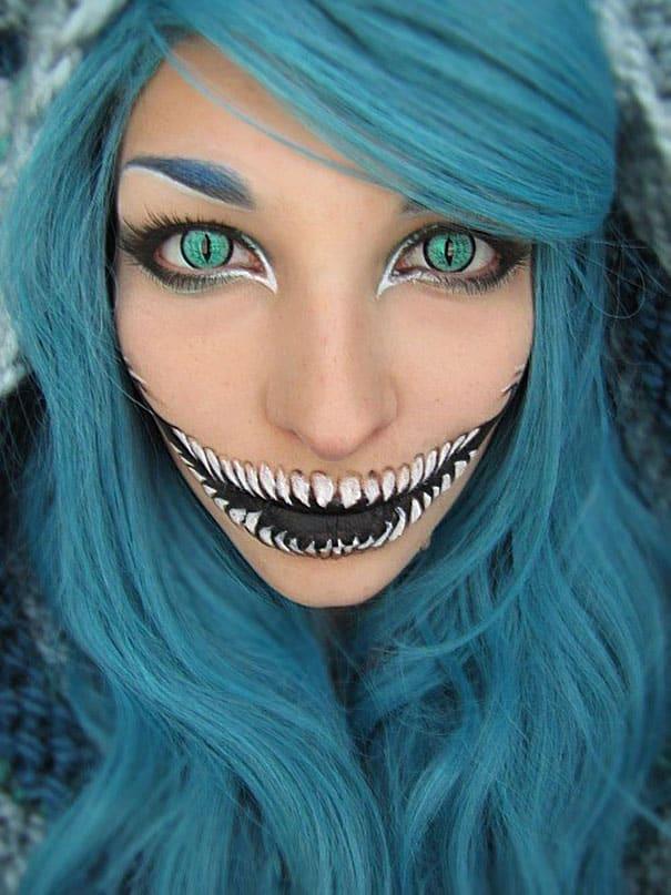 76 Of The Scariest Halloween Makeup Ideas -DesignBump