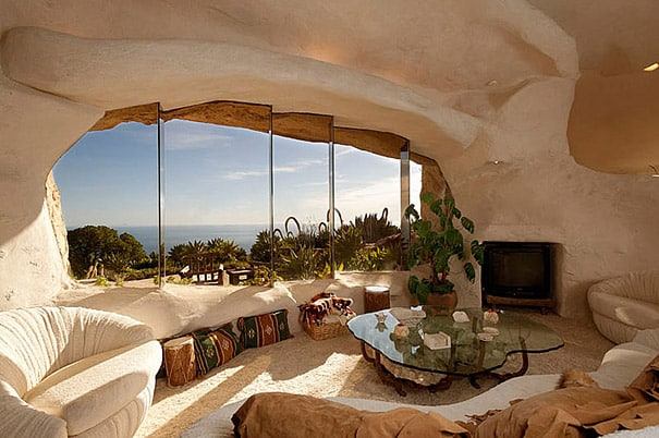 14 Images of The Flintstones Inspired Home In Malibu
