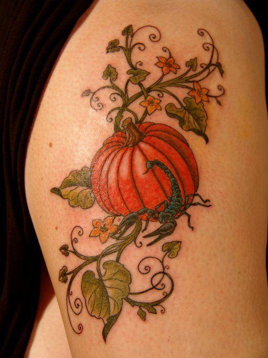 Halloween Tattoo Ideas: 50 Awesome And Creepy Halloween Tattoos -DesignBump