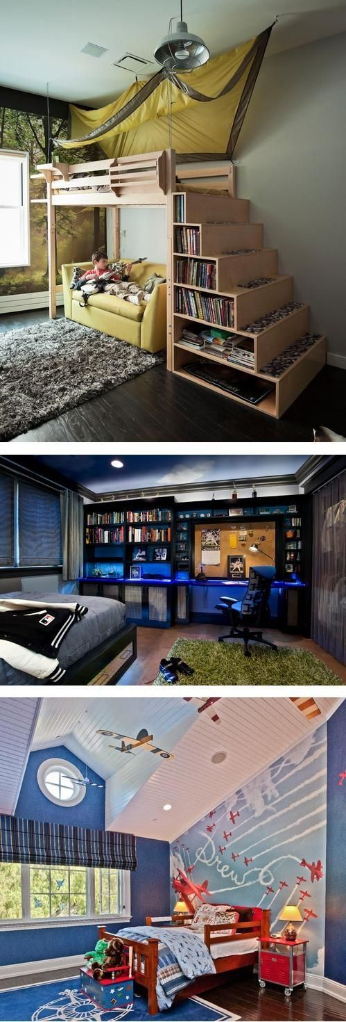 Teen Boys Bedrooms 30 awesome teenage boy bedroom ideas -designbump