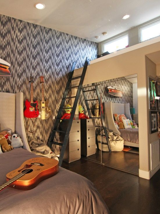 Cool Boys Rooms 30 awesome teenage boy bedroom ideas -designbump