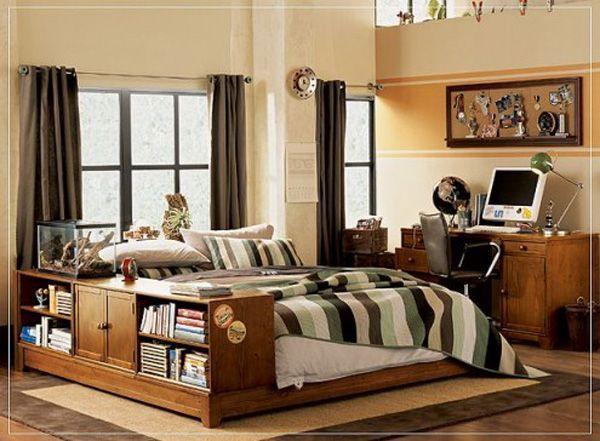 Bedroom For Boy 30 awesome teenage boy bedroom ideas -designbump