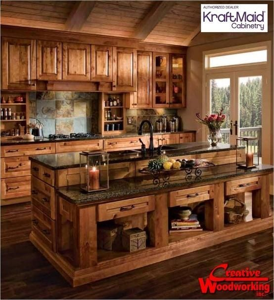 Rustic Kitchen Images 40 rustic kitchen designs to bring country life -designbump