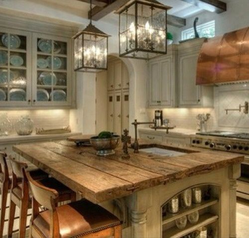 Wooden Rustic Kitchen 026