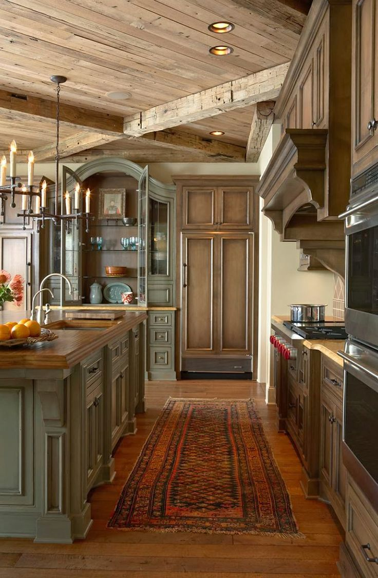 Rustic Farmhouse Kitchens 40 Rustic Kitchen Designs To Bring Country Life Designbump
