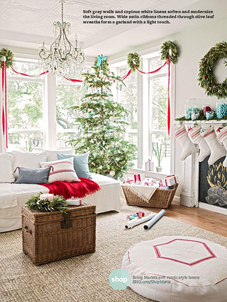 Good Christmas Decoration Ideas 41 christmas decoration ideas for your  living room -designbump