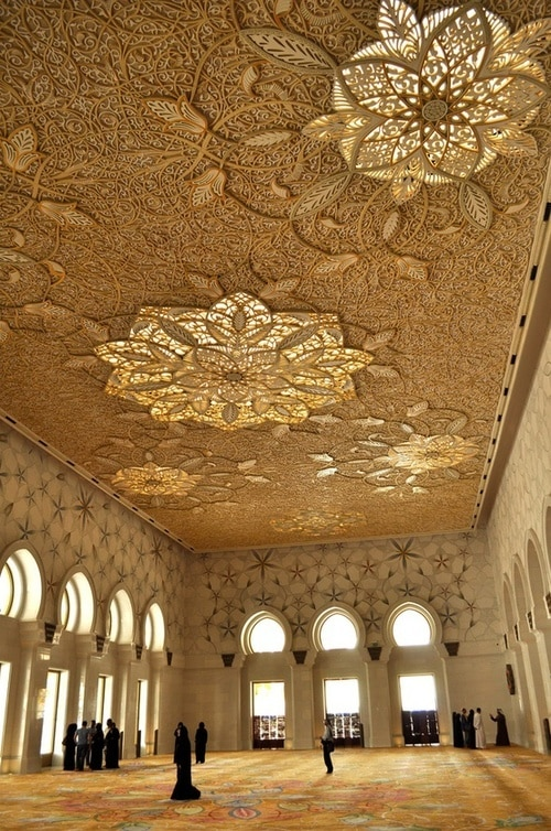 Exterior: 40+ Beautiful Mosque Ceilings That Highlight Islamic