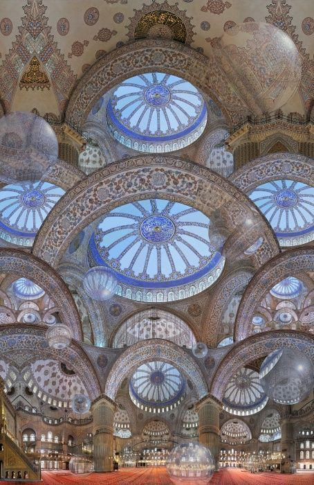 40+ Beautiful Mosque Ceilings That Highlight Islamic ...