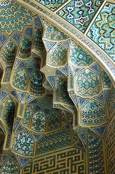 40 Beautiful Mosque Ceilings That Highlight Islamic