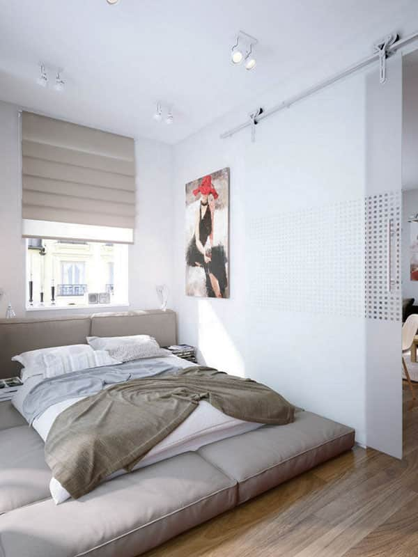 53 Small Bedroom Ideas To Make Your Room Bigger -Design Bump on Small Room Ideas  id=39332
