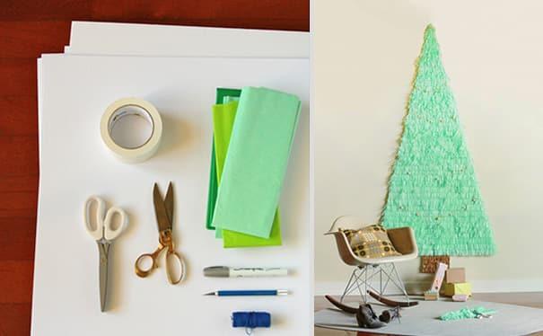 40 Creative DIY Christmas Tree Ideas -DesignBump