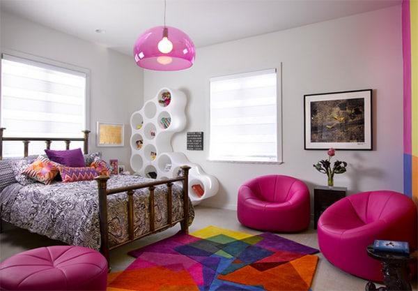 20 Beautiful Examples of Girls Bedroom Ideas -DesignBump on Beautiful Teenage Bedrooms  id=53575