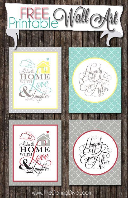 Bathroom Art Ideas Free Printables