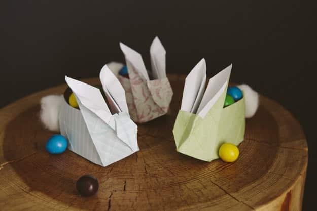 Make These Origami Easter Bunnies