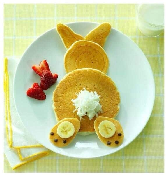 Or Whip up a Bunny Butt Pancake