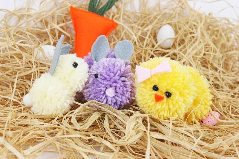 Make Adorable Pom Pom Chicks
