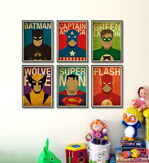23 diy ideas for making an awesome superhero bedroom designbump