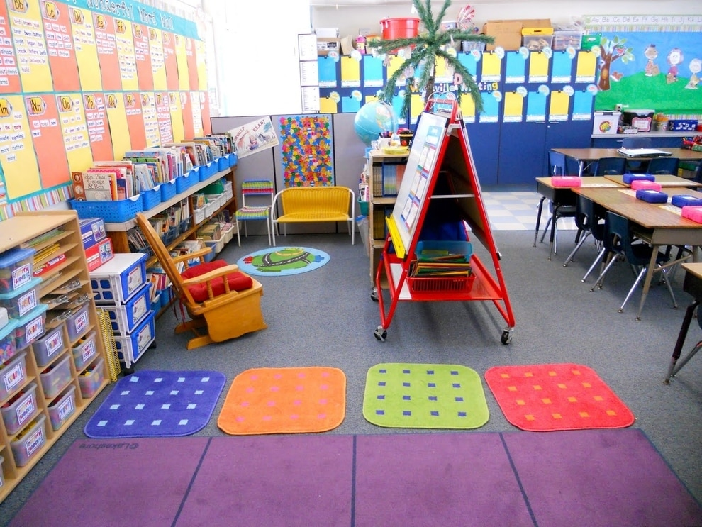 Minimalist Classroom Furniture ~ Most beautiful classroom decor designs designbump