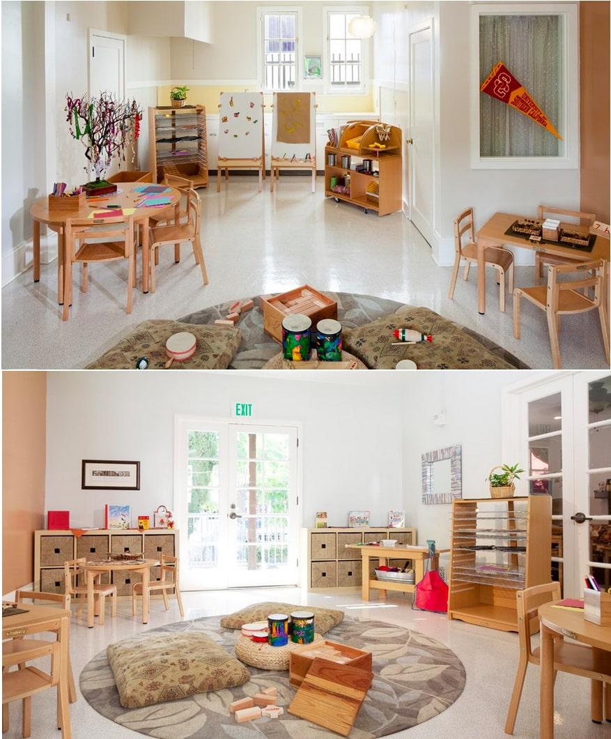 Minimalist Classroom Ideas : Modern minimalistic kindergarten high quality home design