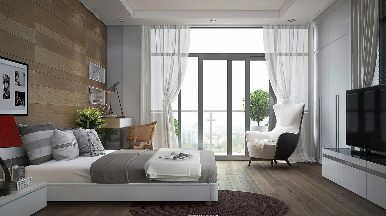 25 inspirational modern bedroom ideas -designbump